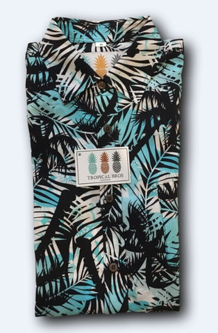 Sky Palms Hawaiian Shirt