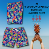 *** Party Flowers *** Swimsuit