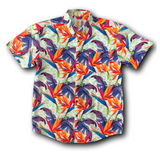 Super Stretch - Tropical Tidal Wave Hawaiian Shirt