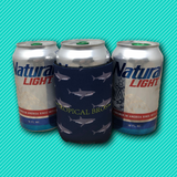 The Daddy Shark Beer Koozie