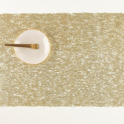 Metallic Lace Table Mat & Runner
