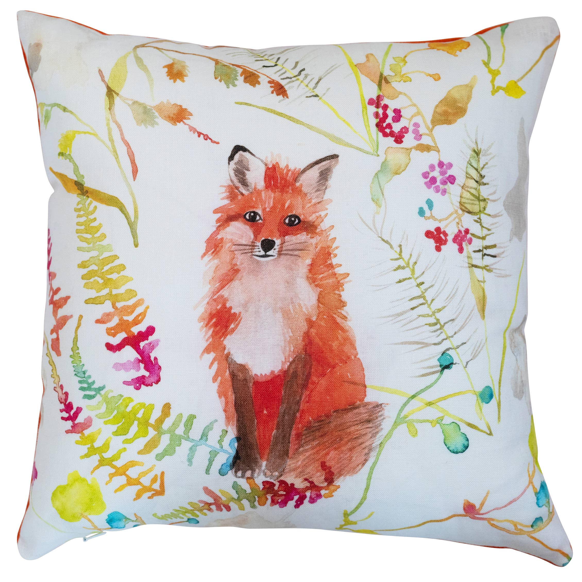 Pillow - Fox in White