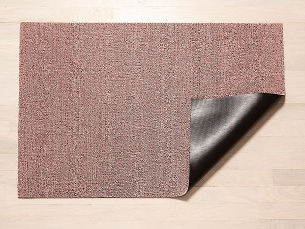 Heathered Blush Shag Mat