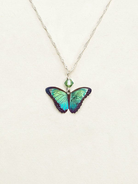 Petite Bella Butterfly Pendant Necklace