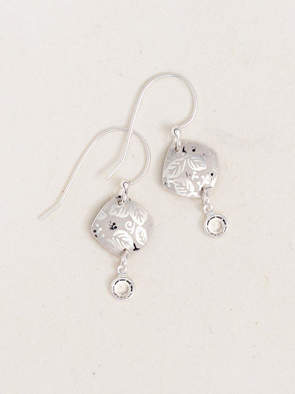 Square Leaf Earrings