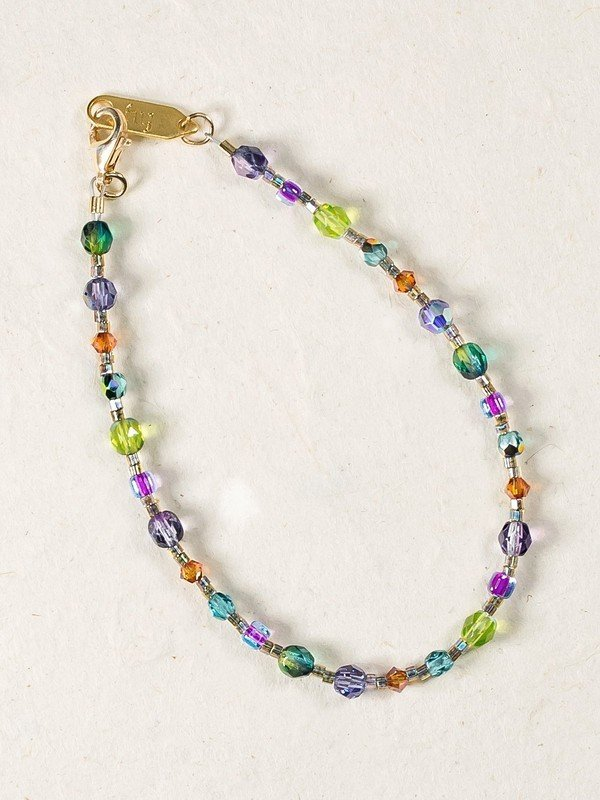 Rainbow Reflections Bracelet
