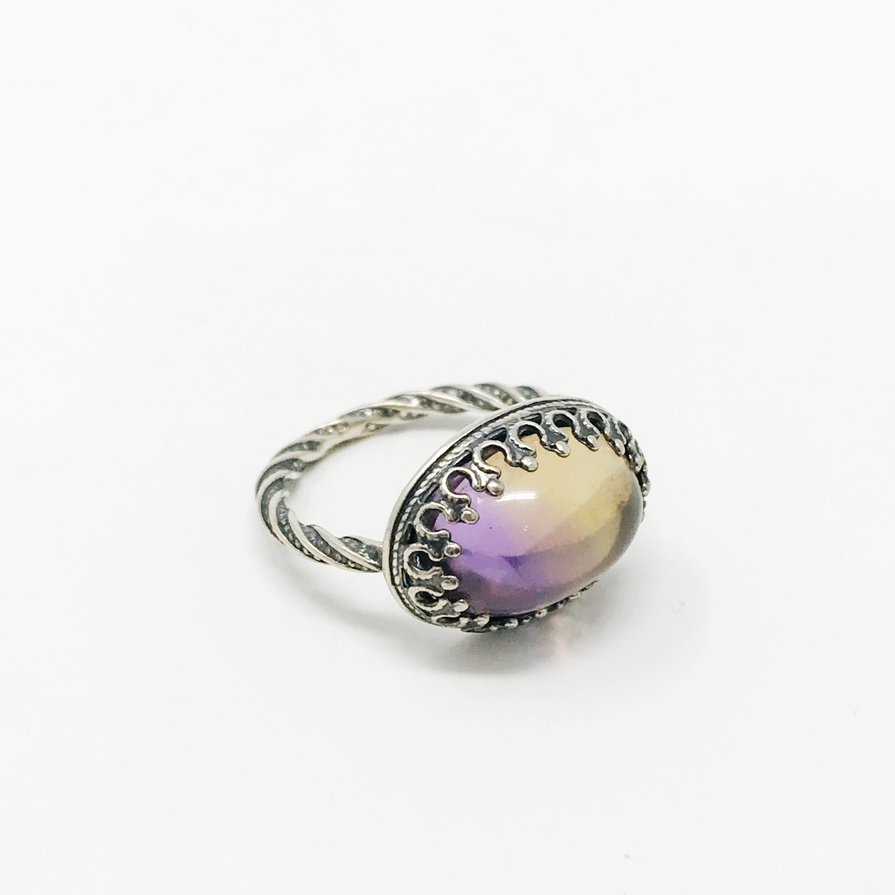 Anua & Sterling Silver Ring