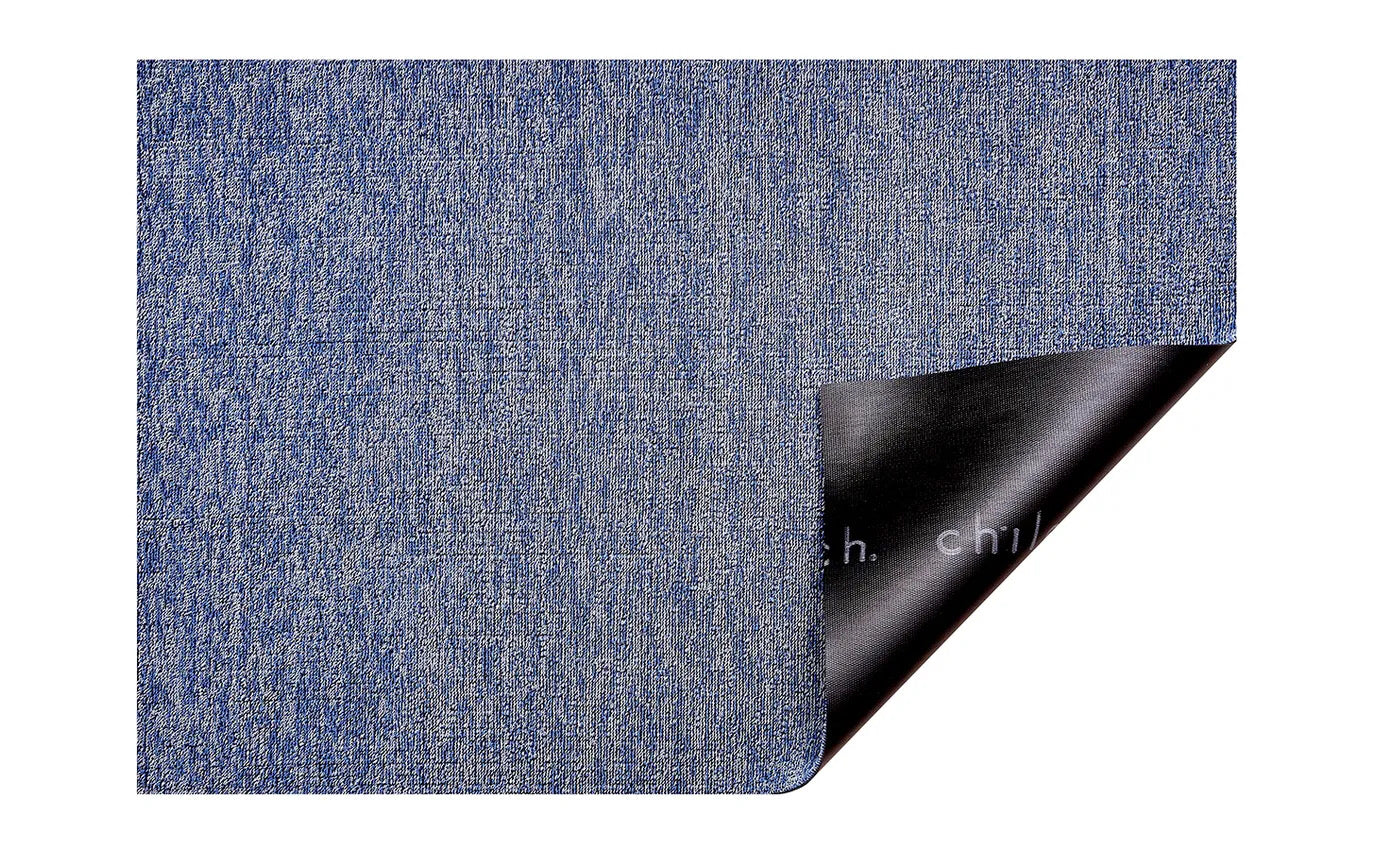 Heathered Cornflower Shag Mat