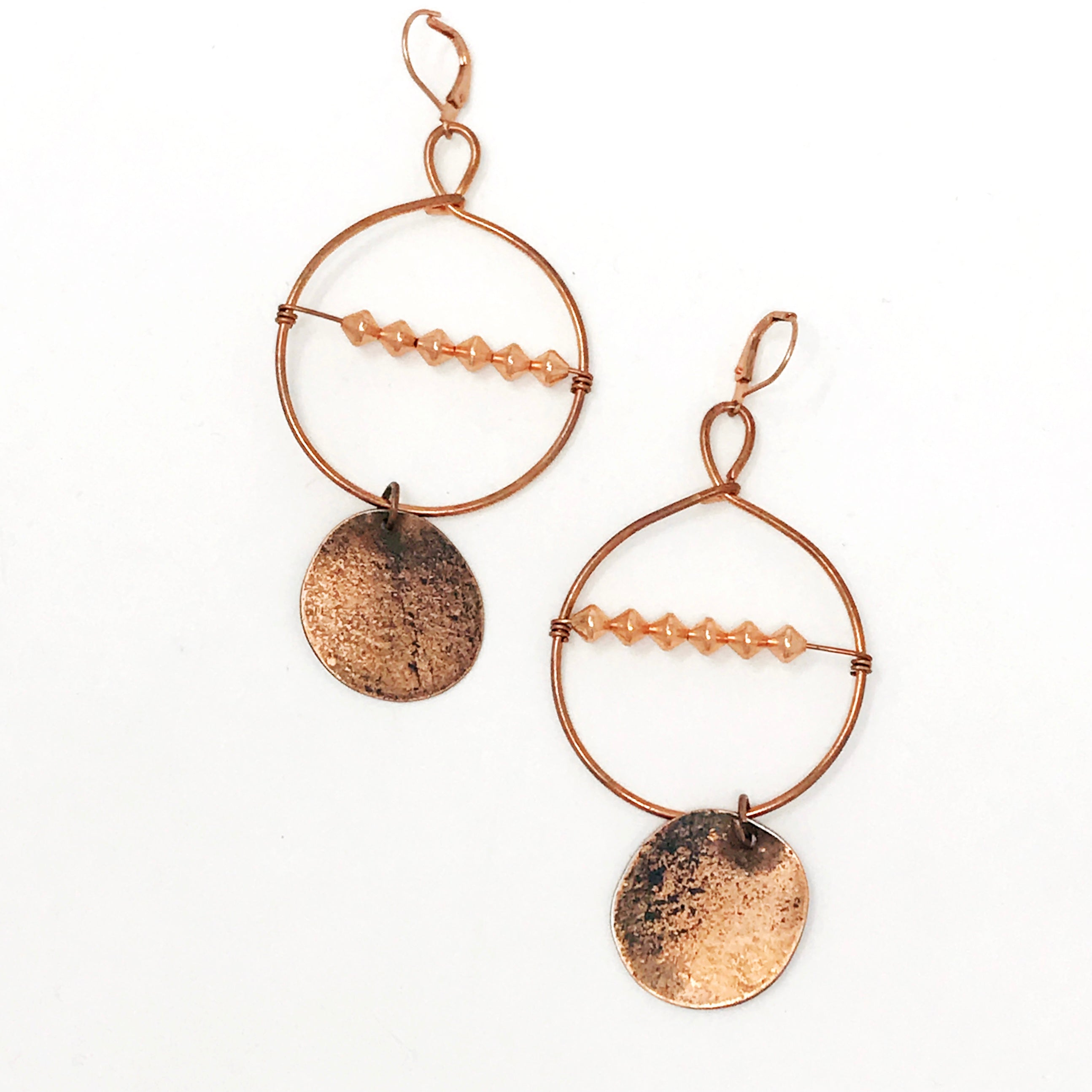 Abacus & Pennies Earrings