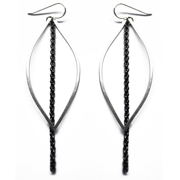 Chain Steel Earrings