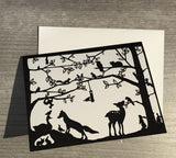 Paper Cut Card Collection by Go Carr Go and Squirel Tacos
