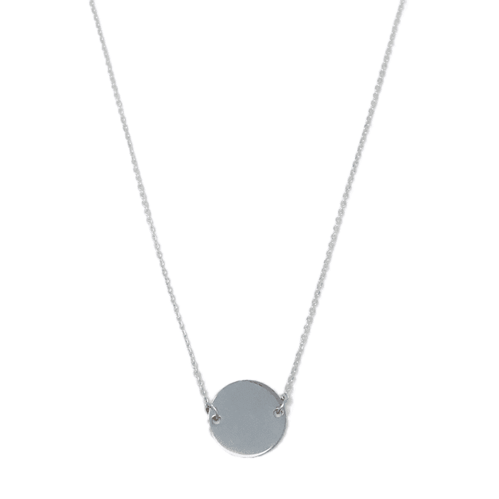 Simple Silver Circle