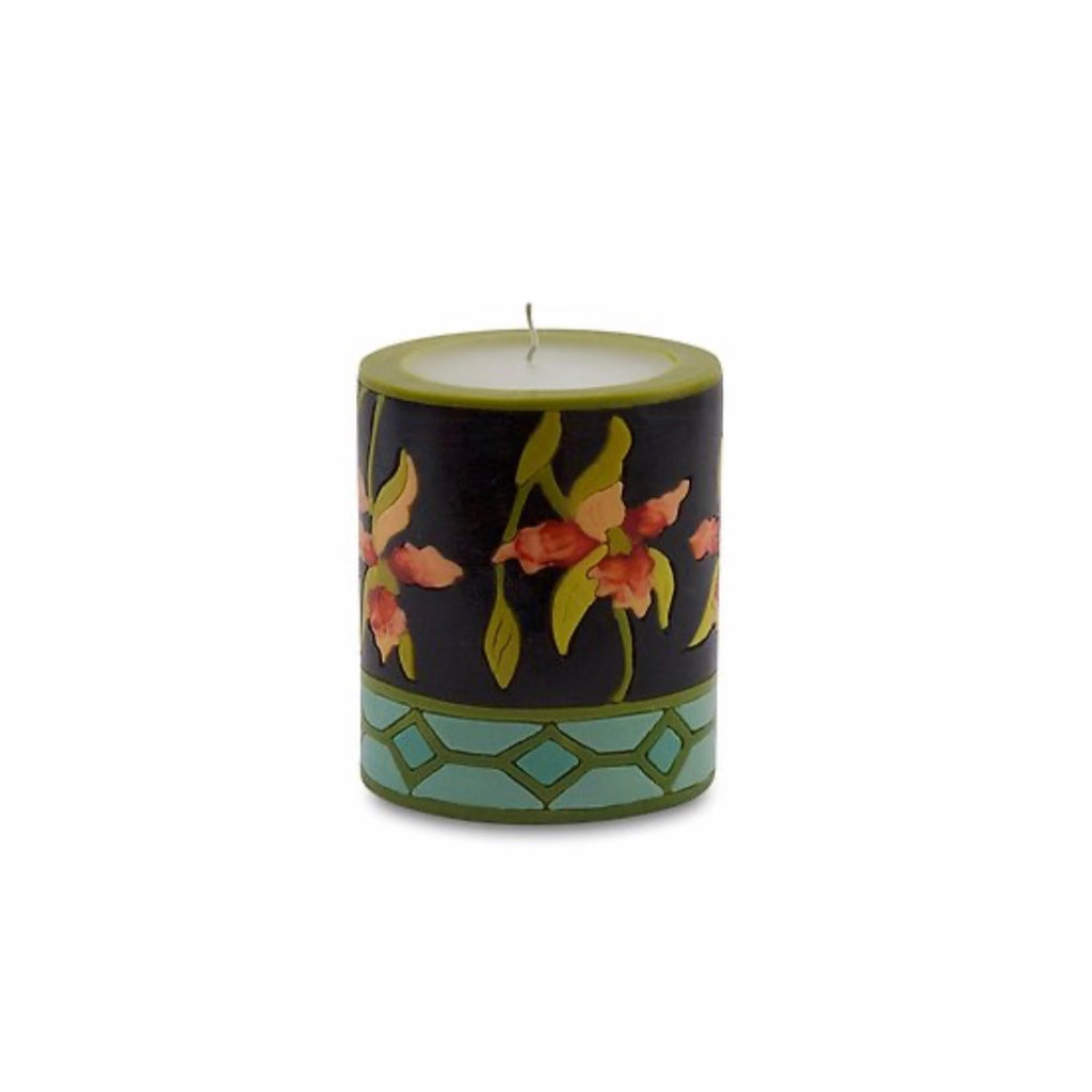 Spray Orchid Candle