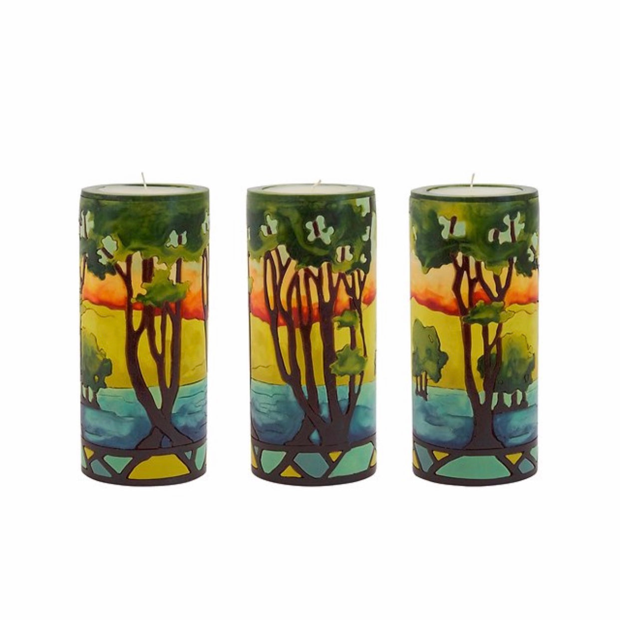Trees Candles