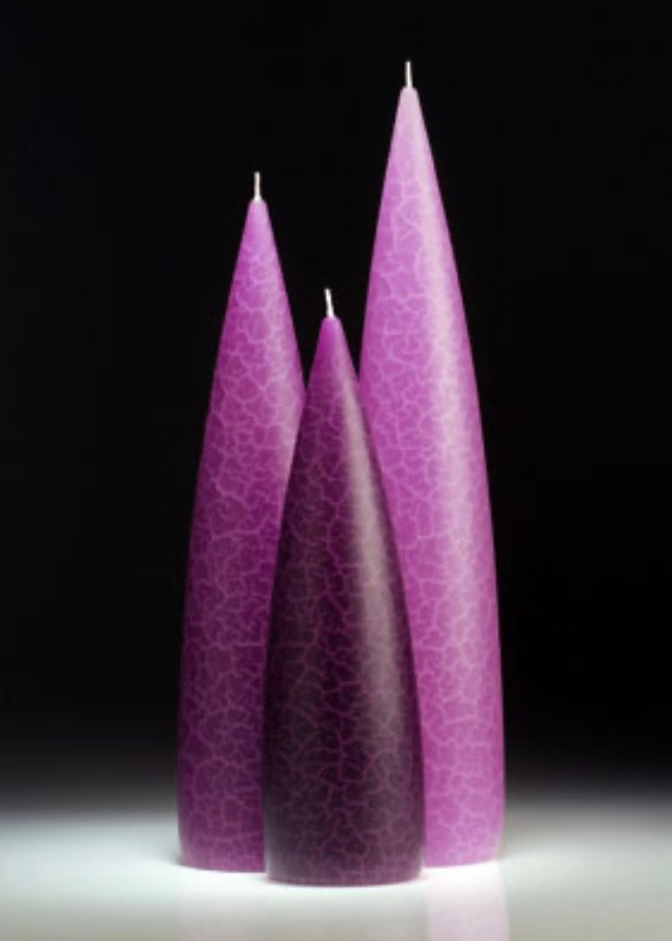 Tall Candles Lilac