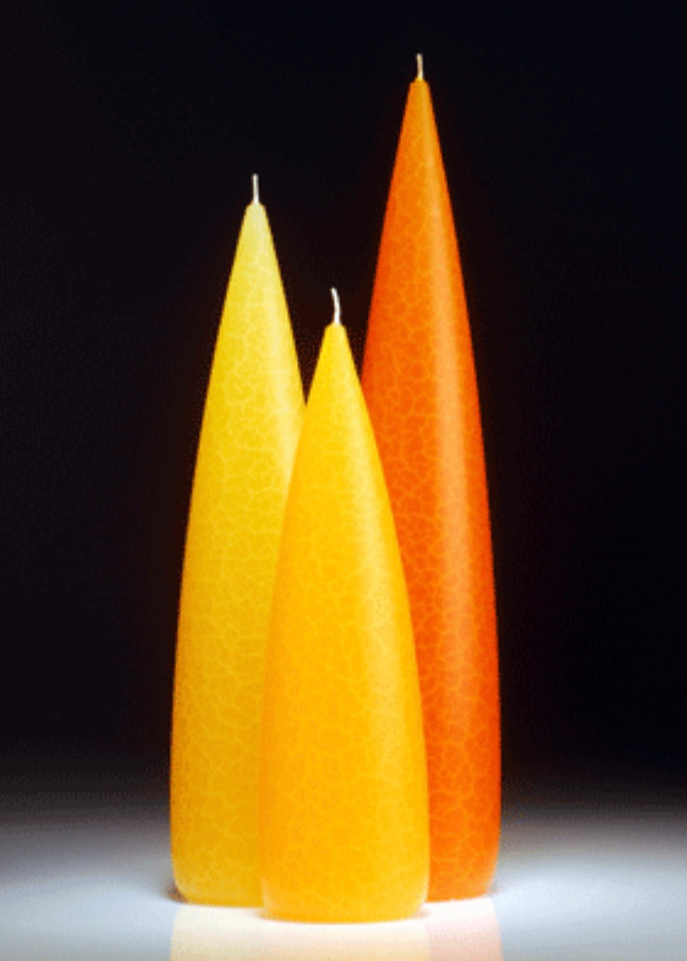 Tall Candles Citrus