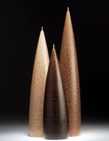 Tall Candles Taupe