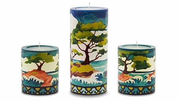 Cypress Candles