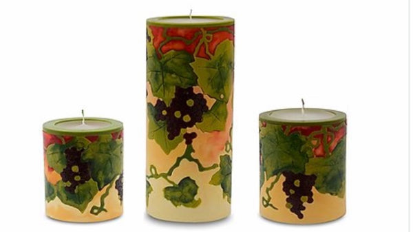 Grapes Candles