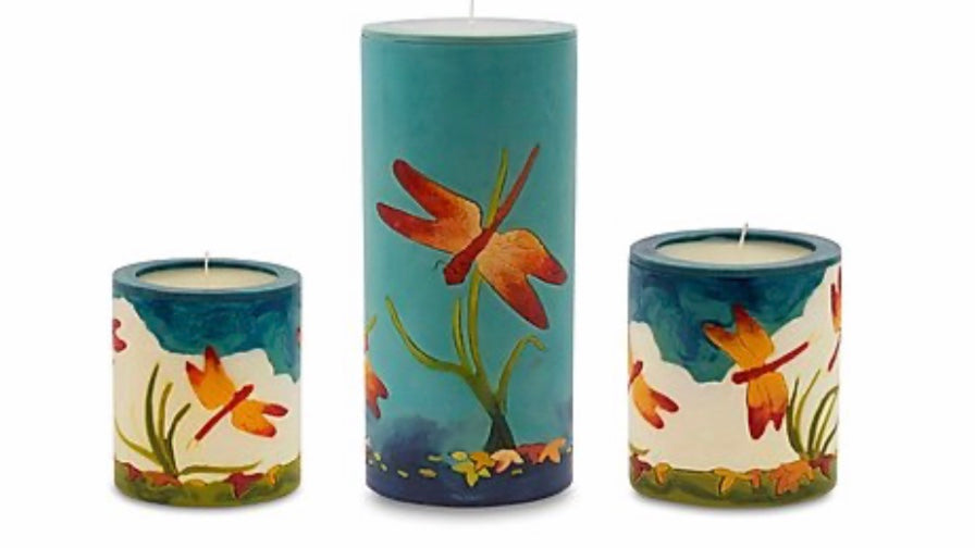 Dragonfly Candles