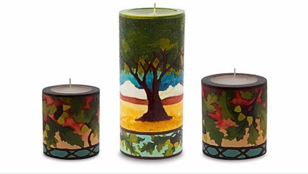 Oak & Acorns Candles