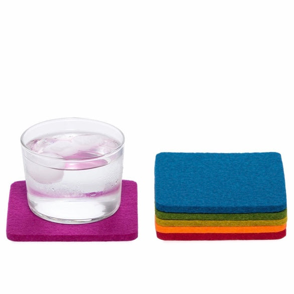 Felt Coasters Set of 6
