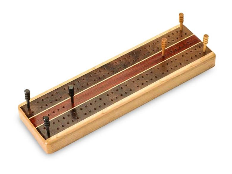 Straight Sides Cribbage Board
