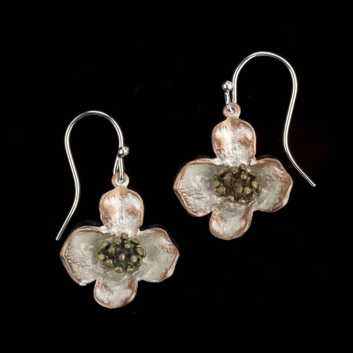 Dogwood Earrings - Wire Drop