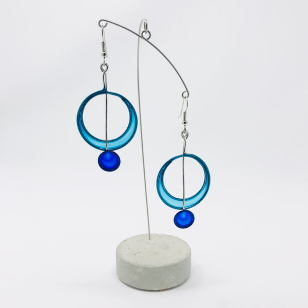Circle With A Dot Earrings