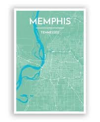 Memphis City Map