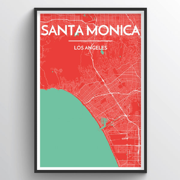 Santa Monica City Map