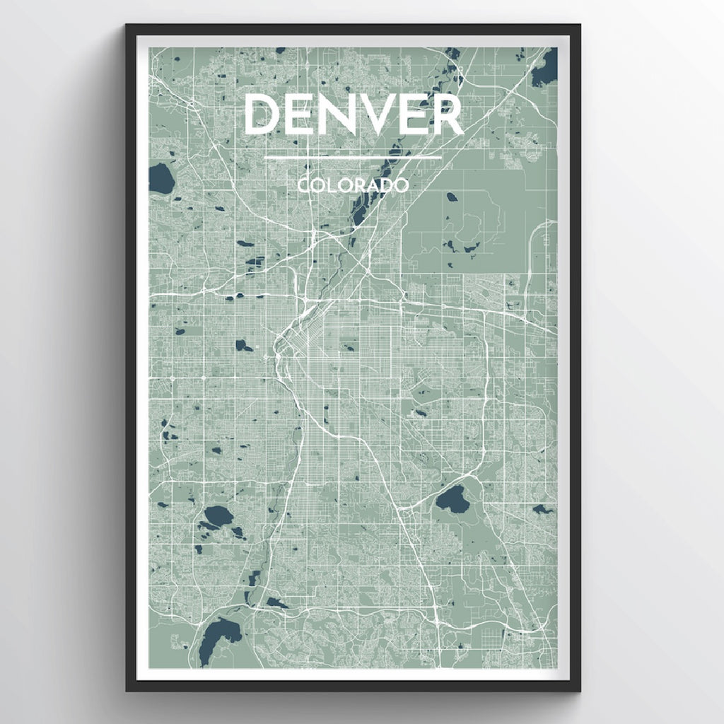 Denver City Map