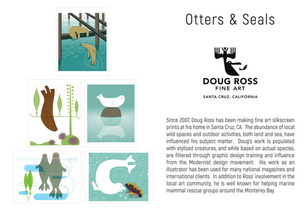 Otters & Seals Greeting Cards