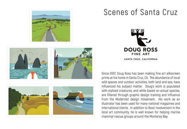 Scenes of Santa Cruz Greeting Cards