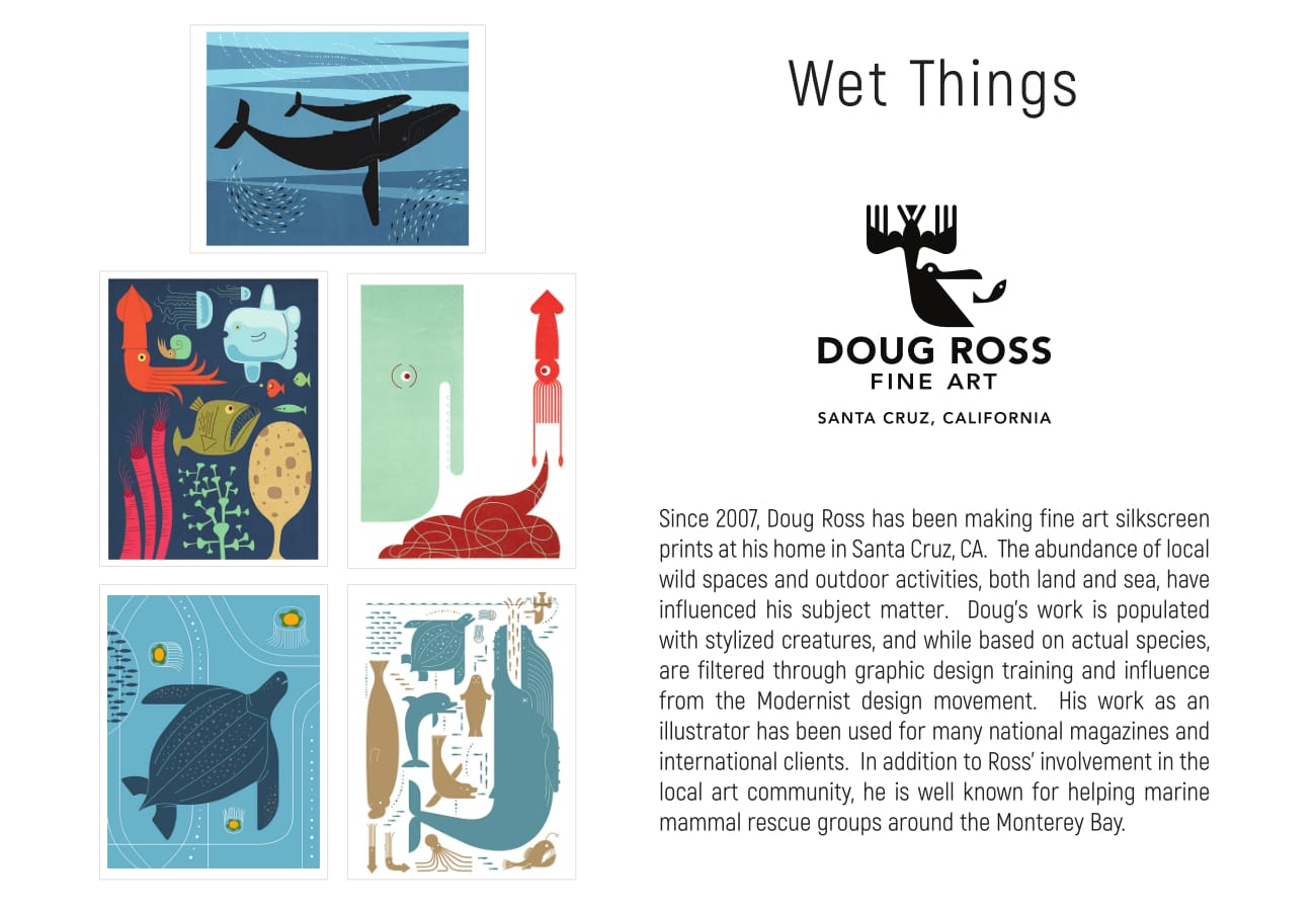 Doug Ross Wet Things Cards