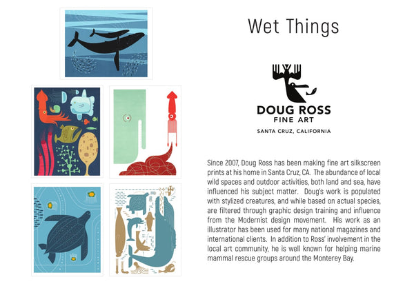 Wet Things Greeting Cards