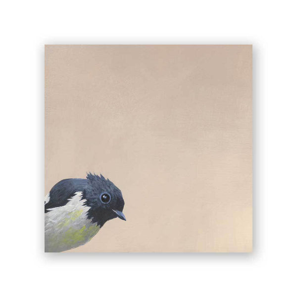 South Island Robin Wings on Wood Decor