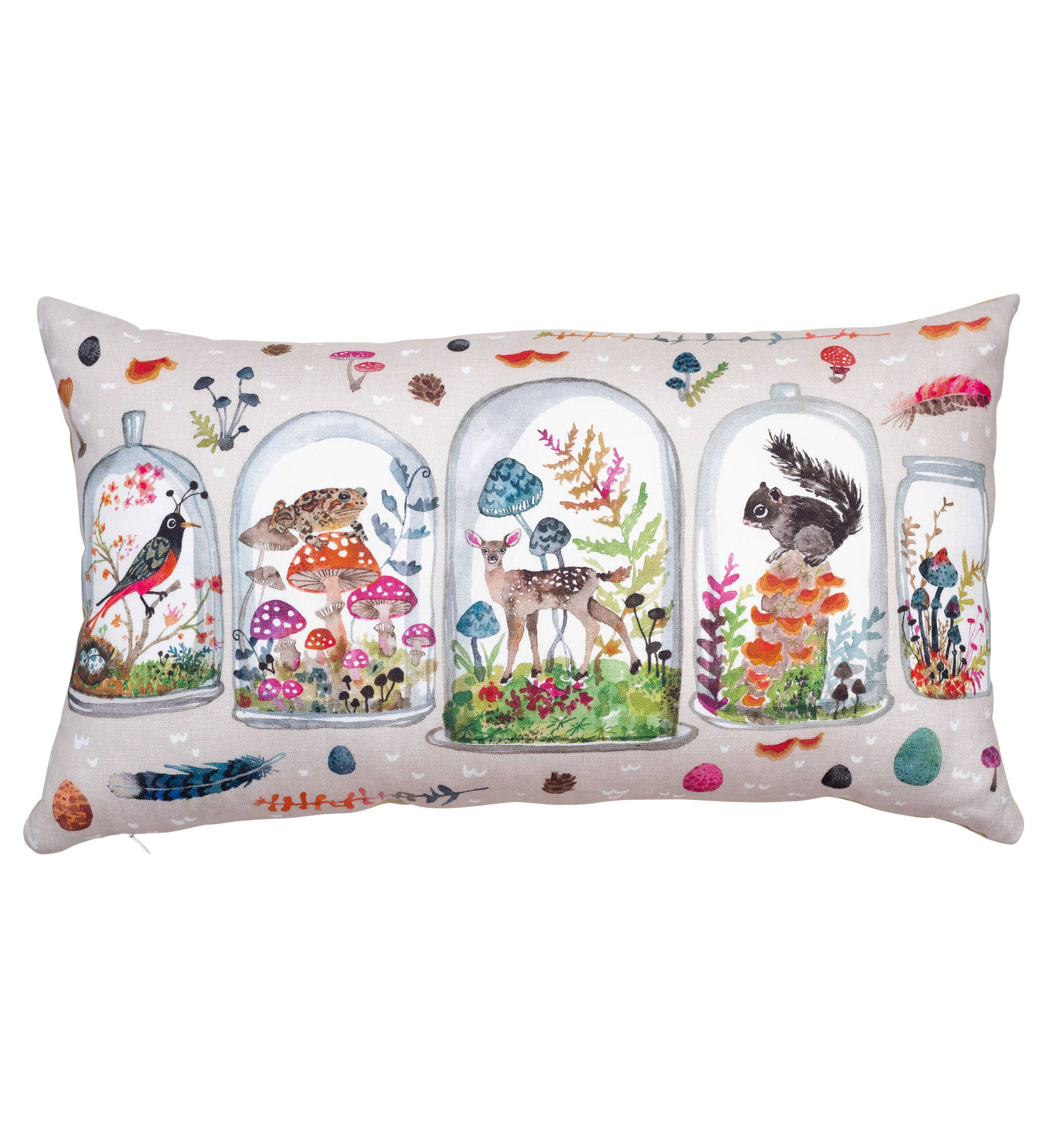 Pillow- Woodland Terrarium