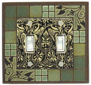 Arts and Crafts Light Switch Plates