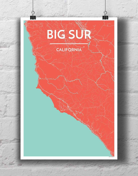 Big Sur Map