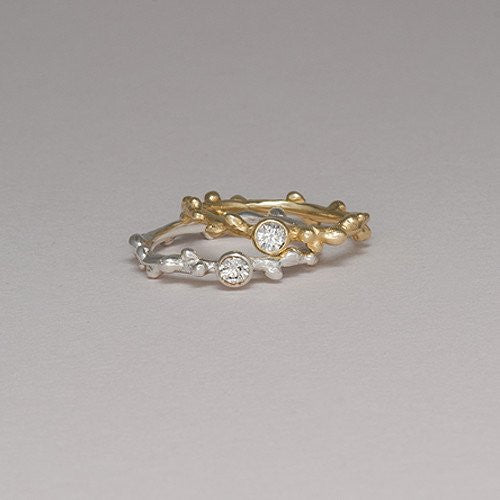Diamond Branch Ring