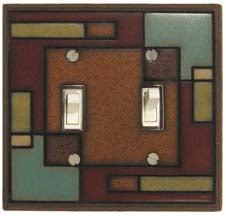 Rectangles Light Switch Plates