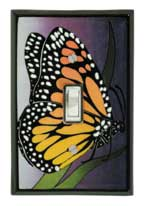 Monarch Ceramic Light Switch Plates
