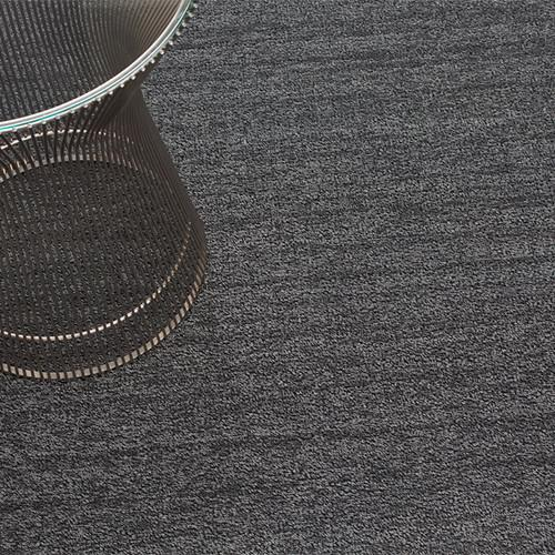 Heathered Grey Shag Mat