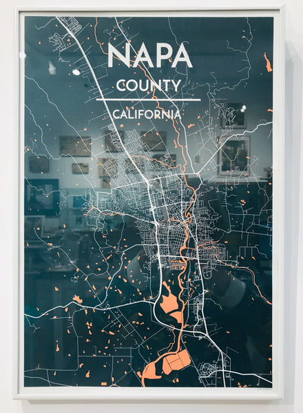 Napa County Map