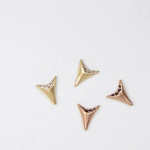 Mini Tooth Earrings
