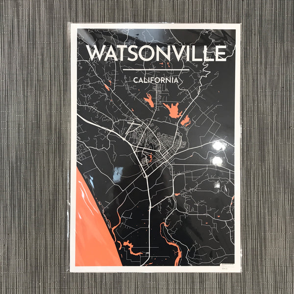 Watsonville City Map