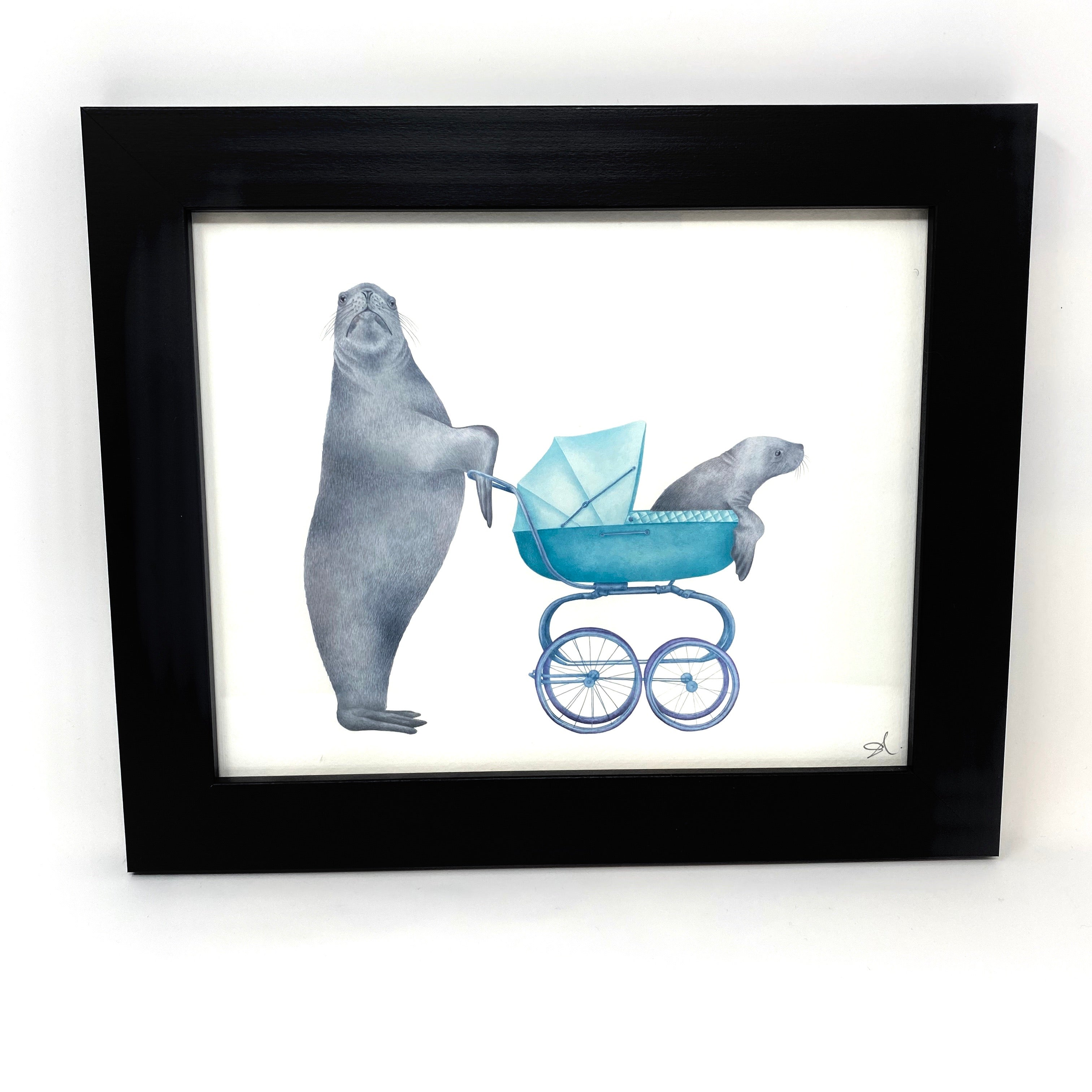 Easton & Amino Scarborough Steller Sea Lion Art Print