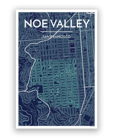 Noe Valley SF Map