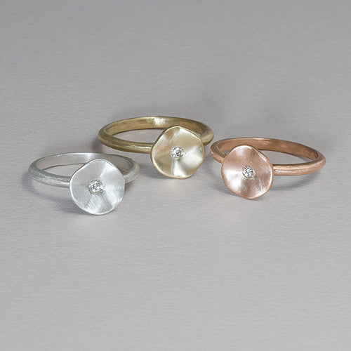 Pod Diamond Ring